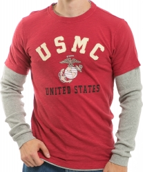 View Buying Options For The RapDom US Marines USMC Highlight Longsleeve Mens Tee