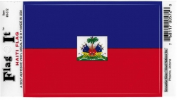 View Buying Options For The Haiti Flag Car Decal Sticker [Pre-Pack]