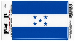 View Buying Options For The Honduras Flag Car Decal Sticker [Pre-Pack]