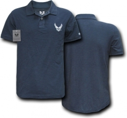 View Buying Options For The RapDom Air Force Hap Logo Military Mens Polo Shirt