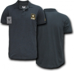 View Buying Options For The RapDom U.S. Army Strong Logo Military Mens Polo Shirt