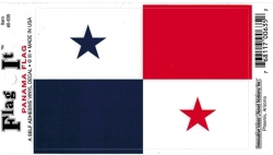 View Buying Options For The Panama Flag Car Decal Sticker [Pre-Pack]