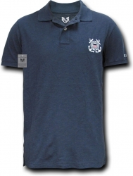 View Buying Options For The RapDom United States Coast Guard Logo Military Mens Polo Shirt