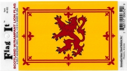 View Buying Options For The Scotland Lion Rampant Royal Flag Car Decal Sticker [Pre-Pack]