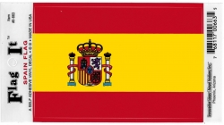 View Buying Options For The Spain Flag Car Decal Sticker [Pre-Pack]