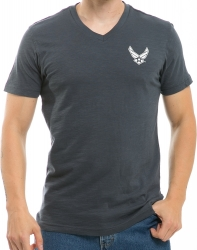 View Buying Options For The Air Force Hap Logo Military V-Neck Mens Tee