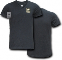View Buying Options For The RapDom Army Strong Logo Military V-Neck Mens Tee