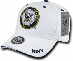 View Buying Options For The RapDom United States Navy Emblem Military Mens Cap