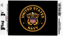 View Buying Options For The US Navy Eagle Round Logo Car Decal Sticker [Pre-Pack]