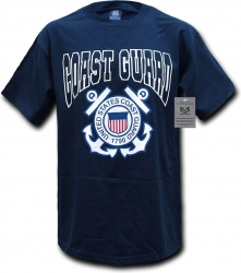 View Buying Options For The RapDom United States Coast Guard Classic Military Mens Tee