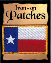 View Buying Options For The Texas State Flag Iron-On Patch [Pre-Pack]
