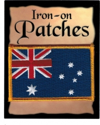 View Buying Options For The Australia Flag Iron-On Patch [Pre-Pack]