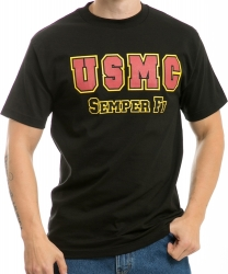 View Buying Options For The RapDom USMC Semper Fi Classic Military Mens Tee