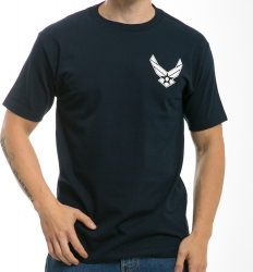 View Buying Options For The RapDom Air Force Hap Wings Basic Military Mens Tee