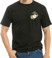 View Buying Options For The RapDom Marines Globe & Anchor Basic Military Mens Tee