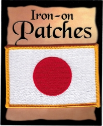 View Buying Options For The Japan Flag Iron-On Patch [Pre-Pack]