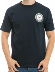 View Buying Options For The RapDom United States Navy Basic Military Mens Tee