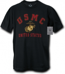 View Buying Options For The RapDom US Marines USMC Classic 30-Single Mens Tee