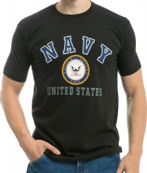 View Buying Options For The RapDom United States Navy 30-Single Classic Mens Tee