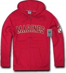 View Buying Options For The RapDom US Marines Full Zip-Up Mens Hoodie Jacket