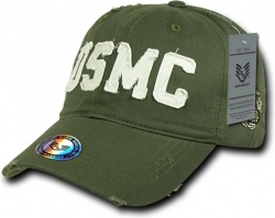 View Buying Options For The RapDom USMC Text Southern Cal Vintage Mens Cap