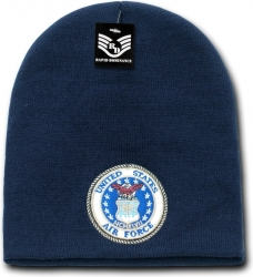 View Buying Options For The RapDom United States Air Force Military Work Short Beanie Cap