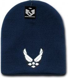 View Buying Options For The RapDom Air Force Wings Military Work Mens Short Beanie Cap