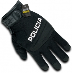 View Buying Options For The RapDom Policia Digital Leather Mens Duty Gloves