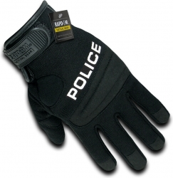 View Buying Options For The RapDom Police Digital Leather Mens Duty Gloves