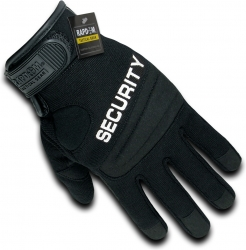 View Buying Options For The RapDom Security Digital Leather Mens Duty Gloves