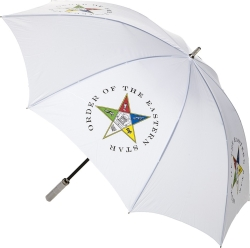 View Buying Options For The Eastern Star 8 Panel Print Jumbo Umbrella