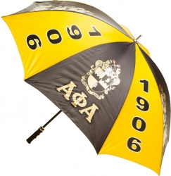 View Buying Options For The Alpha Phi Alpha 8 Panel Print Jumbo Umbrella