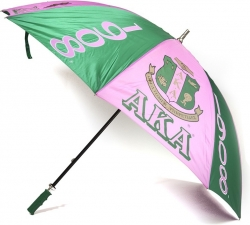 View Buying Options For The Alpha Kappa Alpha 8 Panel Print Jumbo Umbrella