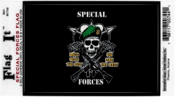 View Buying Options For The Special Forces Flag Outside Car Decal Sticker [Pre-Pack]