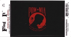 View Buying Options For The POW MIA Logo Flag Outside Car Decal Sticker [Pre-Pack]