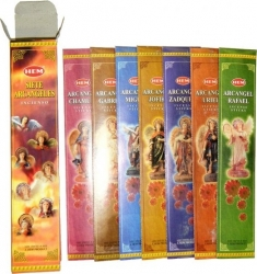 View Buying Options For The HEM Seven Archangels Boxed Incense Stick Packs