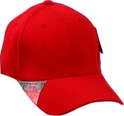 View Buying Options For The Plain Curved Bill I-Fit Stretch Fit Mens Fitted Cap