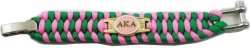 View Buying Options For The Alpha Kappa Alpha Ladies Survival Bracelet