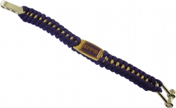 View Buying Options For The Omega Psi Phi Mens Survival Bracelet