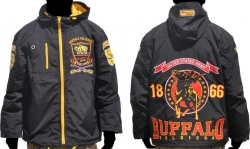 View Buying Options For The Big Boy Buffalo Soldiers S4 Mens Hooded Windbreaker Jacket