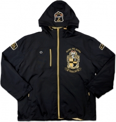View Buying Options For The Alpha Phi Alpha Divine 9 S3 Mens Hooded Windbreaker Jacket