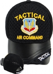 View Buying Options For The Tactical Air Command Vinyl Bill Mens Air Mesh Cap