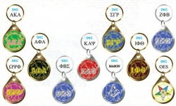 View Buying Options For The Greek Or Mason Domed Mirror Keychain