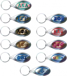 View Buying Options For The Greek Or Mason Tear Drop Domed Mirror Keychain