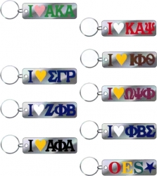 View Buying Options For The Greek Or Mason I Heart Mirror Keychain