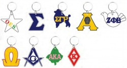 View Buying Options For The Greek Or Mason Symbol Outline Mirror Keychain