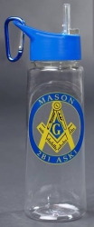 View Buying Options For The Mason Blue House Symbol Eastman Tritan Water Bottle