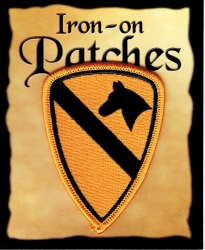 View Buying Options For The 1st Cavalry Division Shield Cut-Out Iron-On Patch [Pre-Pack]