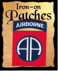 View Buying Options For The 82nd Airborne Division Symbol Cut-Out Iron-On Patch