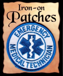 View Buying Options For The Emergency Medical Technician EMT Flag Iron-On Patch [Pre-Pack]